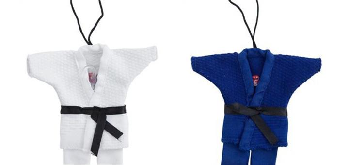 Mini judopakje met zuignap om op te hangen