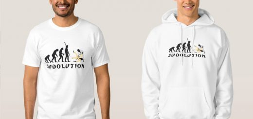 T-shirt of hoodie Judolution